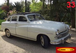 Ford Vedette 1953 Blanc