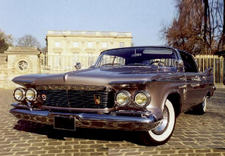 Imperial coupé 1959 Gris