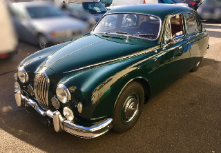 Jaguar MK1  1957 British racing