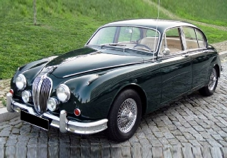 Jaguar MK2 1959 British Racing Green
