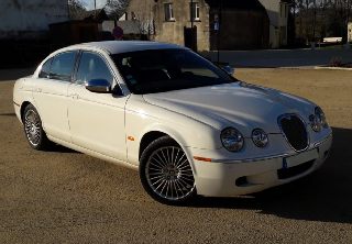 JAGUAR S. TYPE 2002 BORDEAUX
