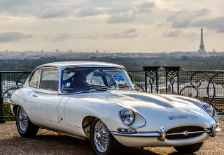 JAGUAR TYPE E 2+2 1968 OLD ENGLISH WHITE