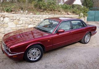 Jaguar xj 6 1997 rouge