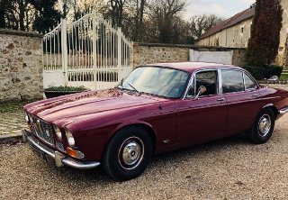 Jaguar XJ6 1969 Rouge