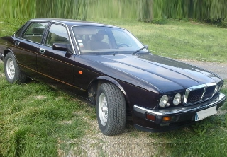 Jaguar XJ81 3.2S 1994 Morocco Red