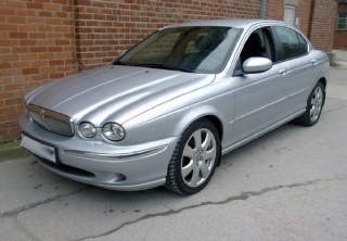 Jaguar X type 2006 gris metal