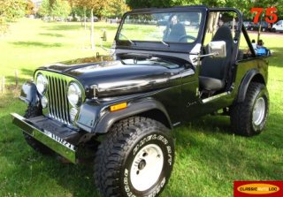 JEEP CJ7 1979 noir
