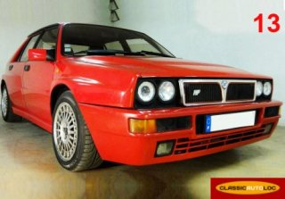 Lancia Delta HF Turbo 1992 Rouge