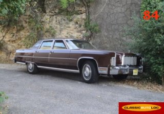 Lincoln Continental 1976 Marron