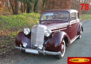 MERCEDES 170S 1951 BORDEAUX