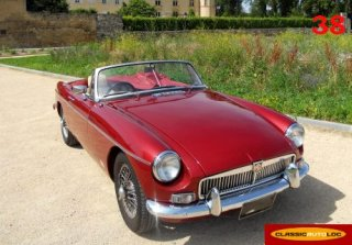 MG B 1969 Bordeaux