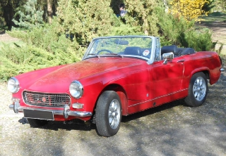 Mg Midget 1971 rouge