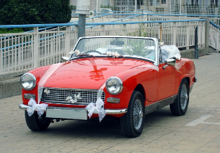 Mg midget 1974 rouge
