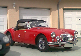 MG SERIE A 1958 ROUGE