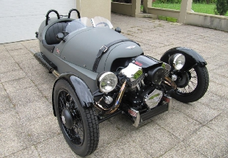 Morgan Three Wheeler 2016 Gris mat