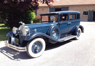 Packard Club Sedan 1931 Bleu