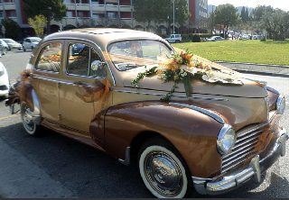 Peugeot 203 1952 2 tons Ocre