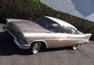 Plymouth Belvedere 1957 Bronze