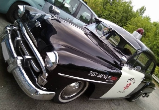 Plymouth Police 1951 Noir/Blanc