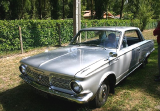 PLYMOUTH Valiant/signet 1964 grise