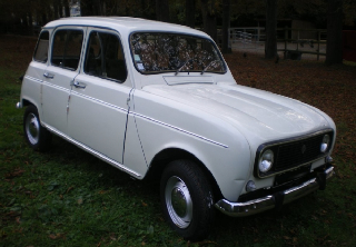Renault 4 L 1976 blanche
