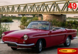 Renault Caravelle 1100 1965 rouge