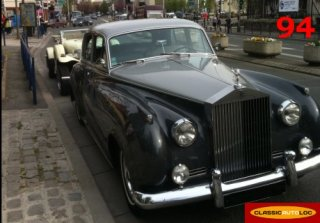 Rolls Royce Silver Cloud 1962 Gris 2 tons