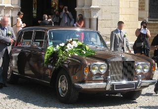 Rolls Royce SILVER SHADOW 1971 MARRON