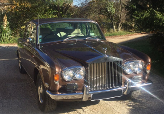 Rolls Royce Silver Shadow 1972 Marron Glacé