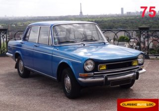Simca 1301 1973 Bleu Metal