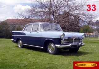 Simca Chambord Bleue 2 tons