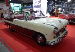 Simca Versaille 1956 Bordeaux/Creme
