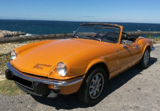 Triumph Spitfire 1500 1975 Orange topaz