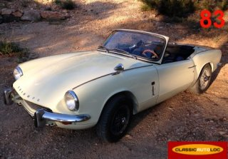 Triumph Spitfire Mk3 Old english white