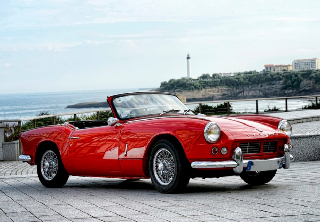 Triumph Spitfire MKII 1966 Rouge