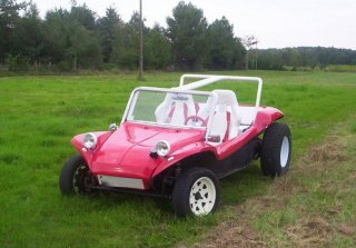 Volkswagen buggy Lm1 long 1968 rouge