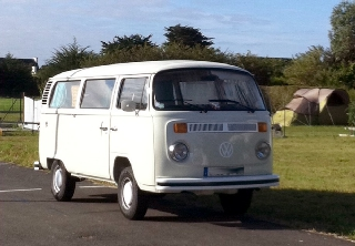 Volkswagen Combi Bay Window 1976 Blanc