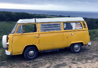 Volkswagen Combi T1 1971 Orange/blanc