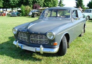 Volvo 122S Amazon 1965 Gris-Bleu